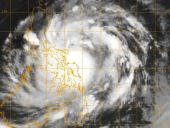 Tájfun formát vett fel az év első trópusi vihara