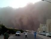 Óriási homokvihar söpört át az Arab-félszigeten - videó
