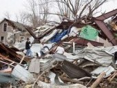 Tornádó tarolt le egy fél várost az USA-ban